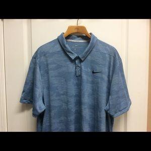 Nike Golf Polo Dri Fit Zonal Cooling Shirt